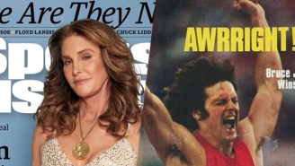Caitlyn Jenner Recreates Gold Medal Magic On The Cover Of 'Sports Illustrated'