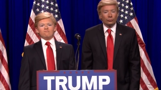 Jimmy Fallon And The 8th Grade Impressionist Show Off Dueling Donald Trump Impressions