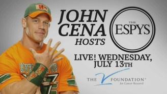 John Cena Says He's 'Terrified' To Host The ESPY Awards