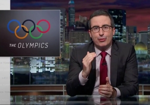 'Last Week Tonight' tears into Olympic doping scandals