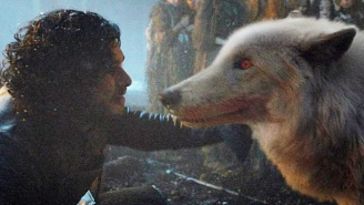 Here's Where Jon Snow's Dire Wolf Was During The 'Battle Of The Bastards'