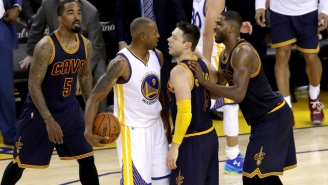 Andre Iguodala Offers Up The Perfect Antidote To That 'Dirty' Matthew Dellavedova Trope