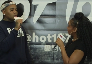 Kevin Gates Explains His Weird Reaction To Being Touched During An Awkward Interview