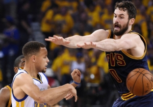 Kevin Love Says 'The Stop' In The 2016 NBA Finals Was Actually A 'Poor Defensive Sequence'