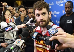 Some Hero Cavs Fan Started A GoFundMe Page To Stop Kevin Love From Playing
