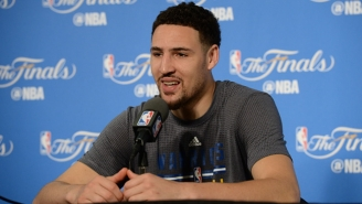Klay Thompson Jokes About The Warriors Being Better Than The Showtime Lakers