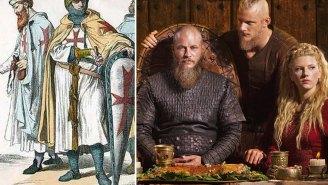 HISTORY remembers its name, begins Crusade series 'Knightfall' to keep 'Vikings' company