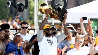LeBron's Heartwarming Speech To Cavs Fans Got The Ultimate Buzzkill With These FCC Complaints