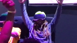 Lil Wayne Losing It On A VR Roller Coaster At E3 Is The Video That'll Make Your Day