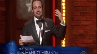 'Hamilton' Creator/Star Lin-Manuel Miranda Honors The Orlando Shooting Victims At The Tony Awards
