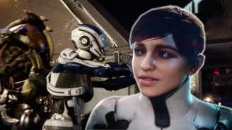 The New Trailer For 'Mass Effect: Andromeda' Shows Off Some Serious Tech And An Expanding Galaxy