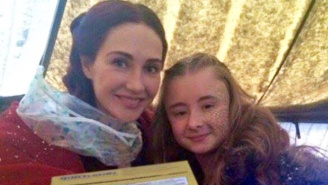 The Actress Who Plays Melisandre On 'Game Of Thrones' Had The Perfect Parting Gift For Shireen