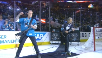 Metallica Shredded The National Anthem At The Stanley Cup Final
