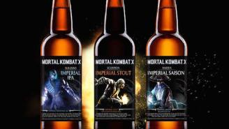 Dust Off Your Console And Get A Bottle Opener Because 'Mortal Kombat' Is Now A Beer Brand