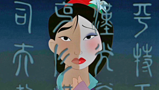 Mulan FINALLY ditches the dress for the opening of Disney's Shanghai theme park