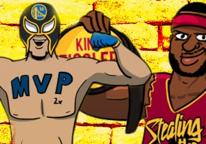 NBA RAW: Mashing Up Basketball Superstars With Their Pro Wrestling Counterparts