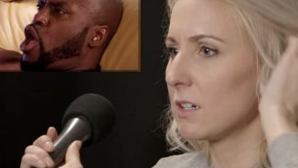 Things Get Weird When Nikki Glaser And Kristen Schaal Feed Lines To Porn Stars