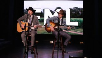 Ethan Hawke Joins Jimmy Fallon in a Country Music Duet