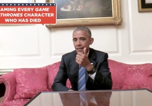 Watch 'Game Of Thrones' Superfan Barack Obama Attempt To Name Every Character That's Died So Far