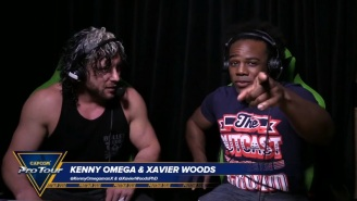 Kenny Omega And Xavier Woods Had Their Long-Awaited 'Street Fighter' Confrontation