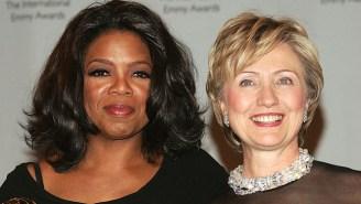 Donald Trump's Dream Running Mate Oprah Winfrey Endorses Hillary Clinton