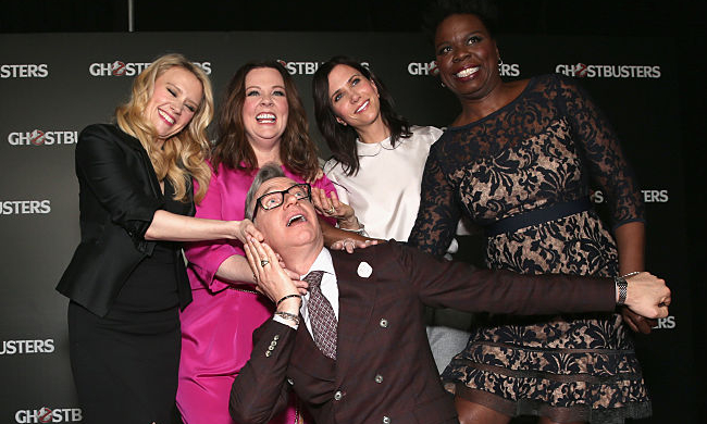 paul-feig-ghostbusters-cast.jpg Paul Feig Ghostbusters cast