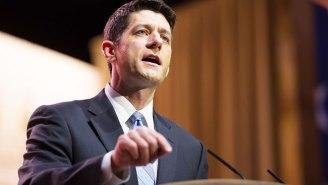 Paul Ryan's Tweet Regarding The Democratic Sit-In Was Not Well Received