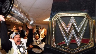 The Pittsburgh Penguins Are Getting A Shiny New WWE Belt To Go With Their Stanley Cup