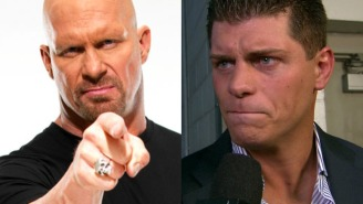 Steve Austin Says It 'Wasn't Such A Good Idea' Cody Rhodes Left WWE When He Did