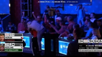 This Poker Player Learned A Valuable Lesson After Prematurely Celebrating A Hand