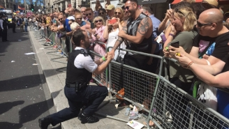 Cops Pop The Question At London Pride Because Love Is Awesome