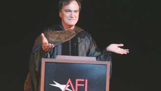 Quentin Tarantino Gives His Own Brand Of Encouragement To AFI Graduates