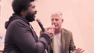 Watch Questlove And Anthony Bourdain Talk Cronuts And Cap'n'Crunch