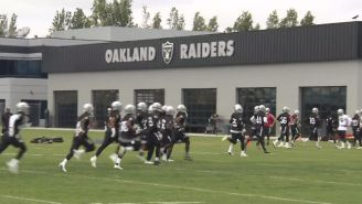 A Trio Of Fights Broke Out Among Players At A Recent Raiders Practice