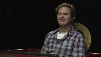 Rainn Wilson Drops $25,000 For The 'Weezer Experience' In This Hilarious Funny Or Die Video