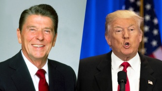 Donald Trump Embellished His Close Ties To Ronald Reagan In The Most Awkward Way