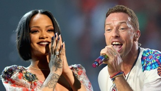 Chris Martin Says Rihanna Sounds Like Toothpaste? Let Him Explain