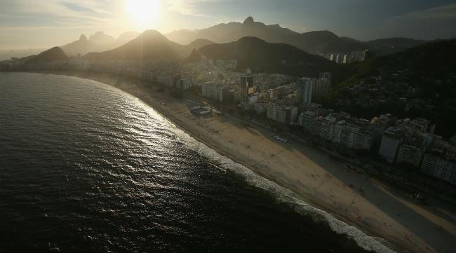 rio olympics beach