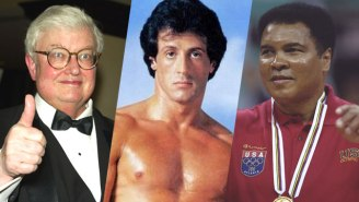 Let's Revisit The Time Muhammad Ali And Roger Ebert Watched 'Rocky II' Together