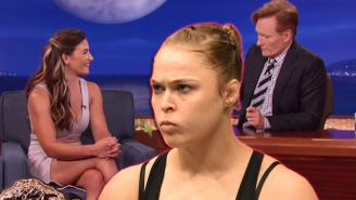 Miesha Tate Calls Out 'Pouty' Ronda Rousey And Questions Her Heart On 'Conan'