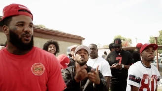 The Game, Boogie And Problem Kick It In Compton For The 'Roped Off' Video