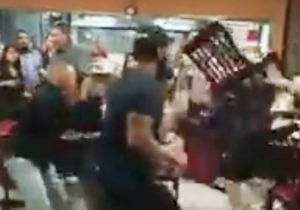 An Argument Over Salsa Turned Into This Insane Brawl At A Mexican Restaurant In Dallas