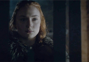 Did This Now-Deceased Character Confirm A Theory About Sansa On This Week's Epic 'Game Of Thrones?'