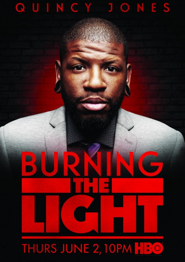 QUINCY JONES BURNING THE LIGHT