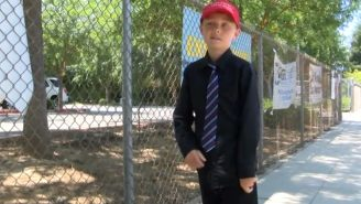 A 9-Year Old Got In Trouble For Wearing His 'Make America Great Again' Hat At School
