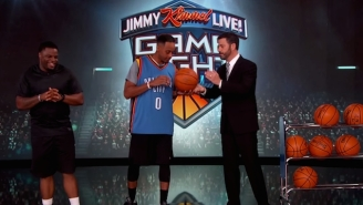 The Internet's Favorite NBA Impersonator Brought His Hilarious Impressions To 'Jimmy Kimmel Live'