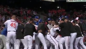 Manny Machado Threw A Huge Right Hand In This Orioles-Royals Brawl