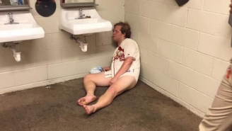Baseball's Best Fan Was Found Pantsless And Passed Out In A Bathroom At A Cardinals Game