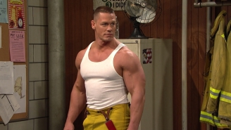'Maya And Marty' Got WWE Superstar John Cena To Play A Sexy Fireman, Fulfilling All Our Dreams