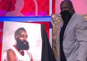 Shaq Names James Harden This Year's 'Shaqtin' A Fool' MVP With An Amusing Video